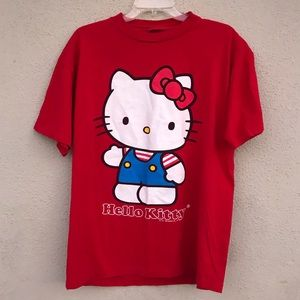 PLUS SIZE hello kitty red tee shirt 1X graphic top
